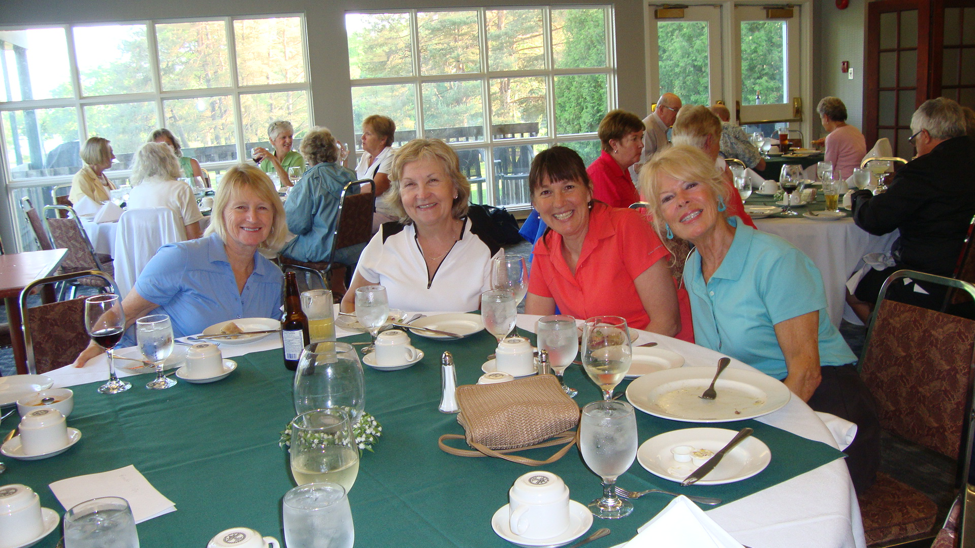 Foursome on the dining table 1